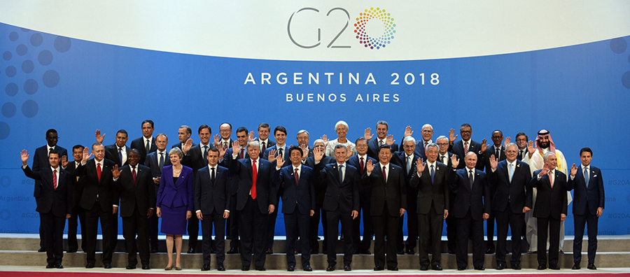 The G20 Leaders' Summit closes
