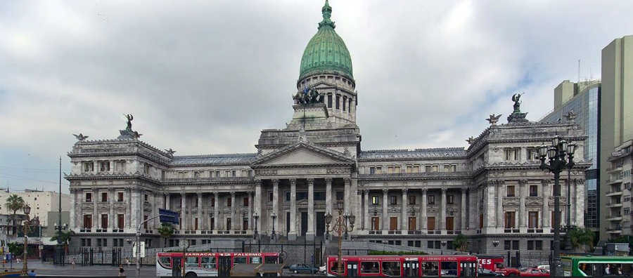 Palace of the Argentine National Congress, Buenes Aires.