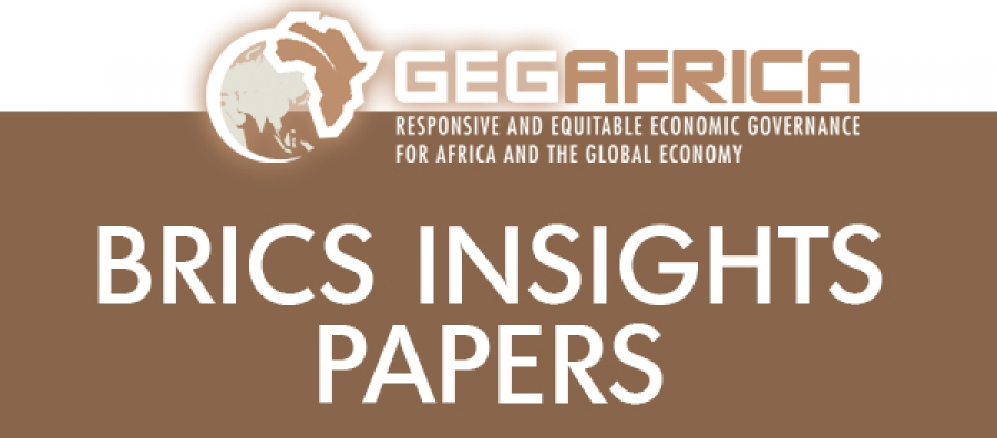 BRICS Insights Papers: BRICS and Development Finance Institutions