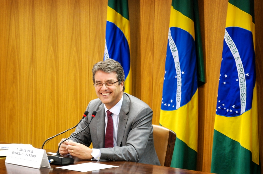 The incoming WTO Director General Roberto Azevêdo from Brazil was approved by the WTO General Council this month
