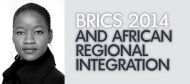 Role of BRICS in African regional integration and development