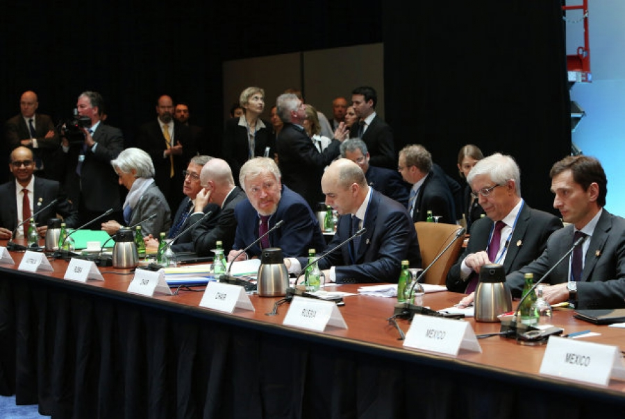 Participants of the G20 Finance Ministers and Central Bank Governors' Meeting on 19 April 2013