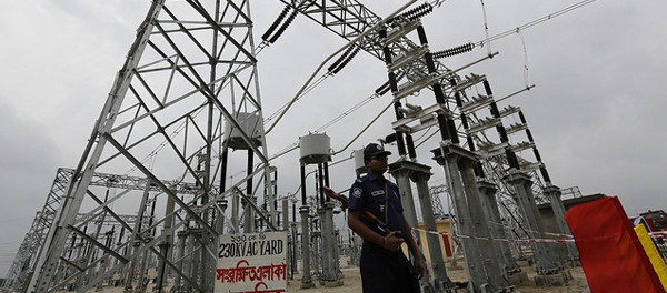 Electricity pylons in the Bangladesh-India Power Transmission Centre funded by Asian Development Bank (ADB). The proposed Asian Infrastructure Investment Bank is seen by many as a rival to the IMF, the World Bank and ADB.