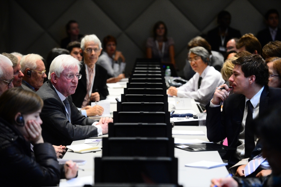 "Discussions at the WTO Public Forum 2012 - ""Is Multilateralism in Crisis?"", where author Peter Draper presented a paper"