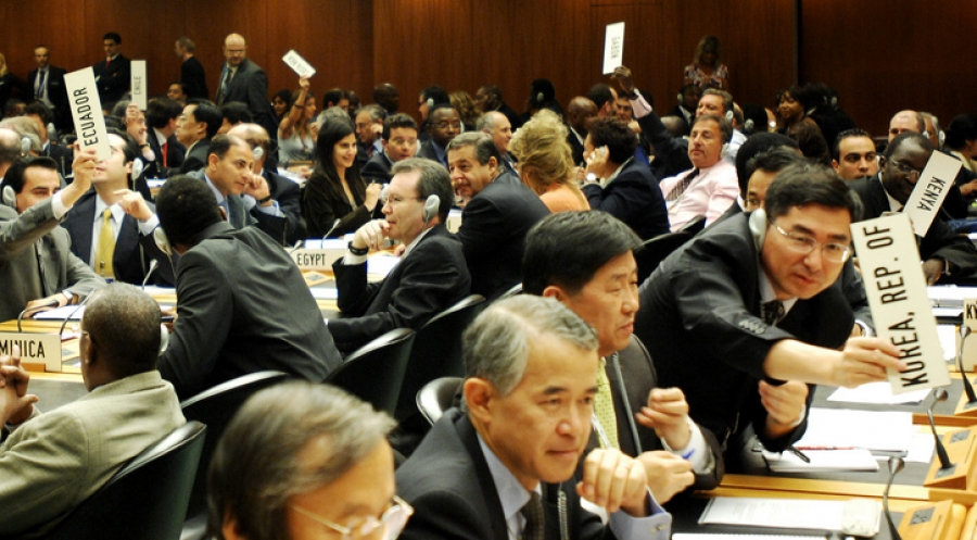 WTO trade negotiations underway for the Doha round in 2008
