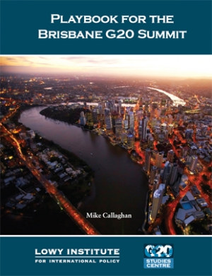 Playbook for the Brisbane G20 summit