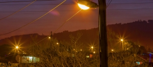 Electricity line South Africa
