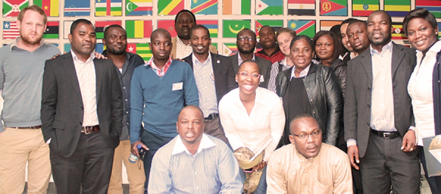 Participants from the 2014 Winter Course.