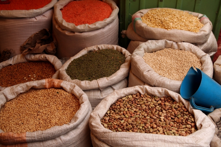 Grains for sale in Addis Ababa